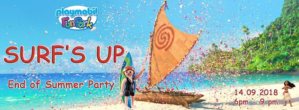 Poster for Playmobil party